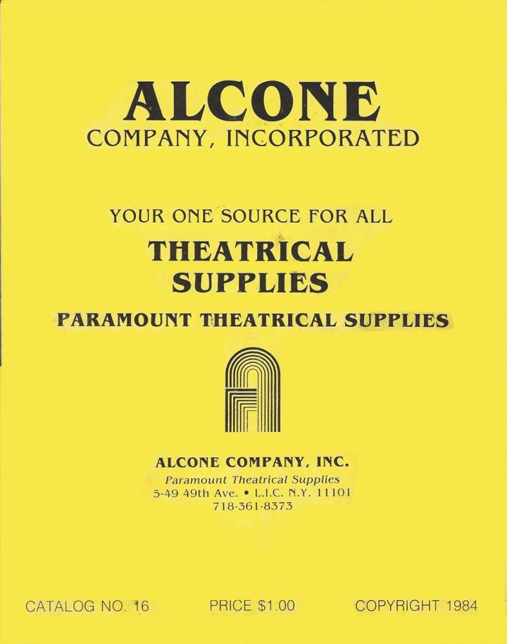 Alcone Company vintage makeup catalog 1984
