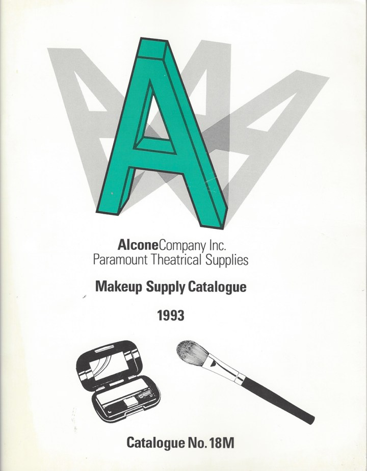Alcone Company vintage makeup catalog 1993