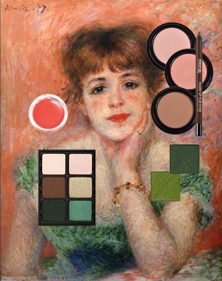 _Renoir with makeup