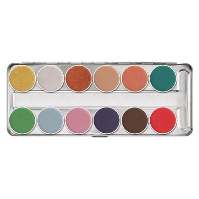 Kryolan Aquacolor Interferenz Palette $59.50