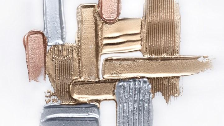 Shine Bright with Metallic Makeup