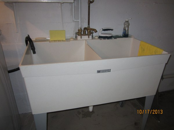 Double Laundry Tub Utility Sink
