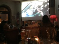 Watching a german crime drama is a popular weekly activity at this particular bar in Neustadt. We couldn't understand the show, but drinks were cheap :-)