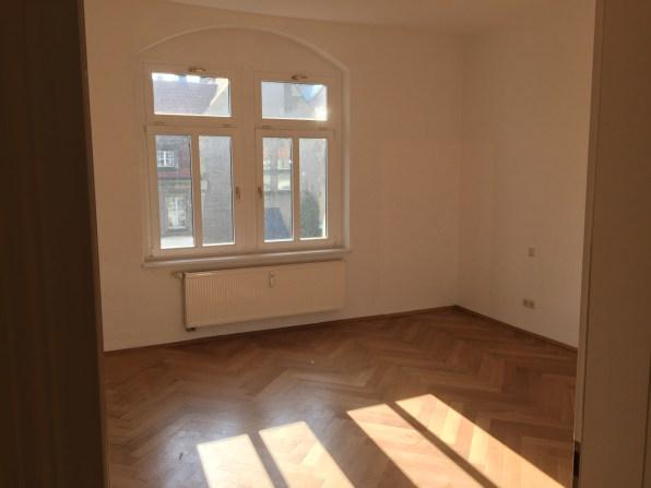 Huge, bright bedroom