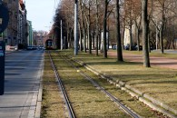 The tram line running past our apartment building spans a mile-long green-way that is becoming increasingly appealing as the weather improves