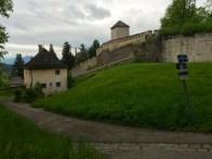 Walking trails on Mönchsberg