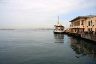 The ferry terminal, on our way to the Golden Horn