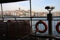 Looking towards Taksim, on the ferry across the Bosphorus