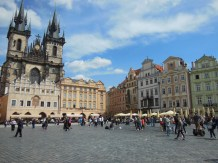 Beautiful downtown Prague