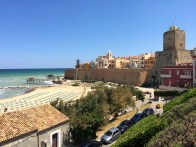 Our lunch stop was in Termoli, famous for it's ancient walled old-town