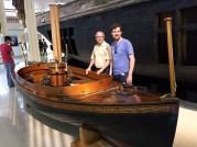 A steam boat built in Michigan