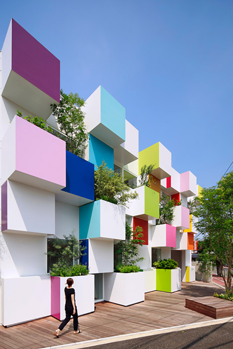 Colorful Architecture Buildings