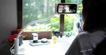 รีวิว CHOETECH 2 in 1 Flexible Phone Holder with Fast Wireless Charger แท่นวางมือถือปรับรูปแบบได้พร้อมที่ชาร์จไร้สายในตัว