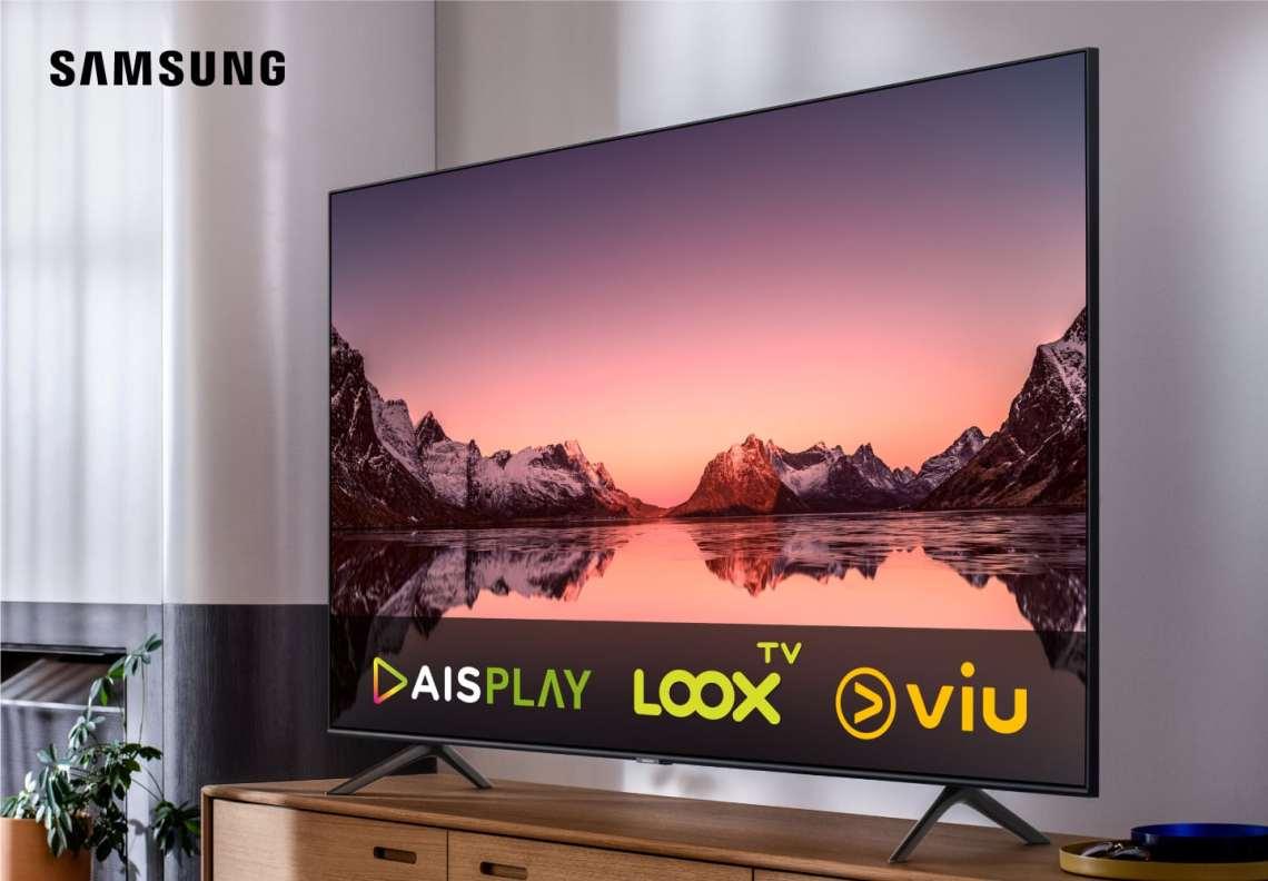 Samsung จับมือ AIS Play, LOOX TV และVIU ชมฟรี! บนทีวีซัมซุง นานสูงสุด 6 เดือน