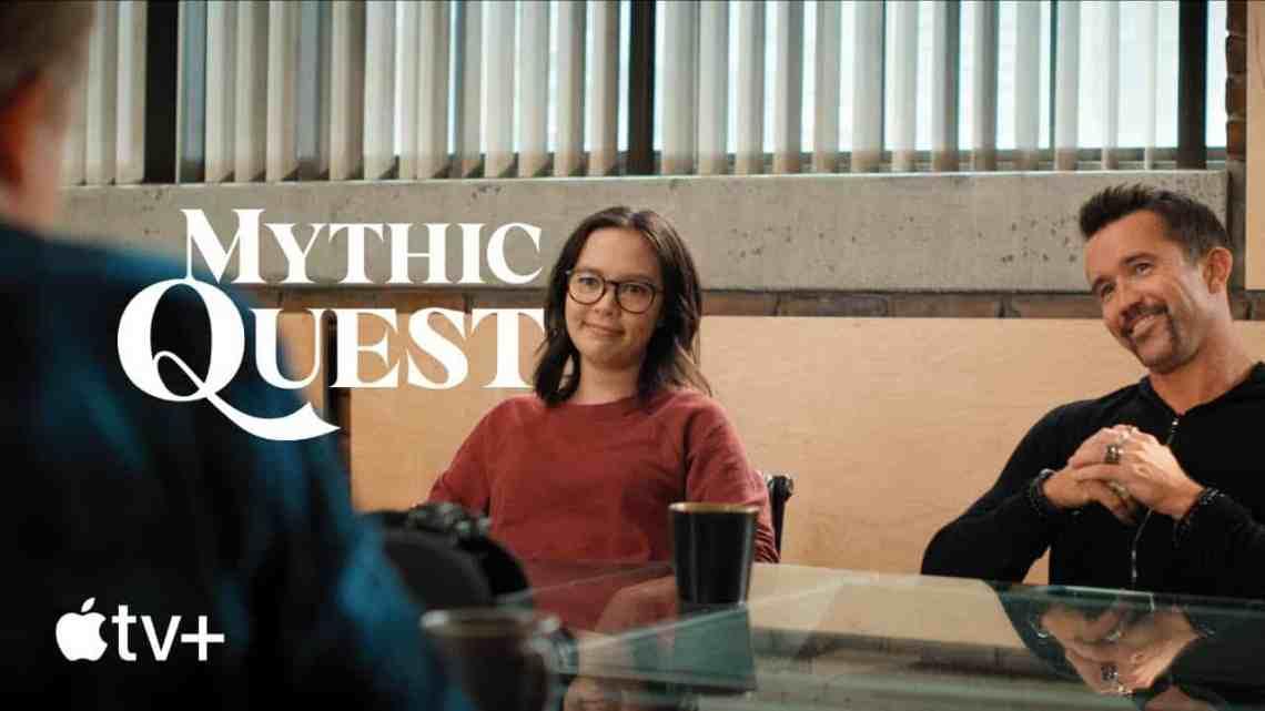 """Apple TV+ เผยโฉมภาพยนตร์ตัวอย่างของ """"Mythic Quest"""" Season 2 เตรียมฉาย 7 พ.ค. 64 นี้"""