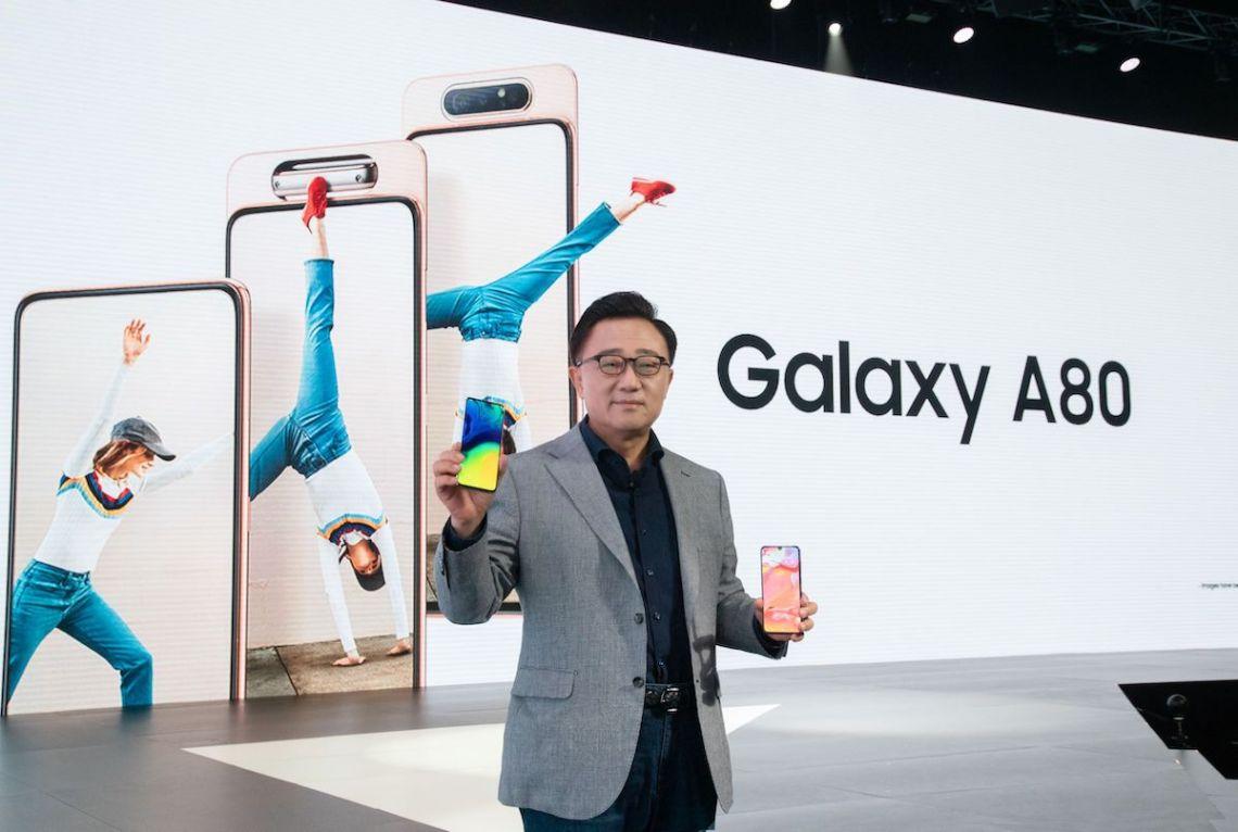 Samsung Galaxy A80 สมาร์ทโฟนแห่งยุคของคนชอบไลฟ์ เปิดตัวอย่างเป็นทางการแล้ว