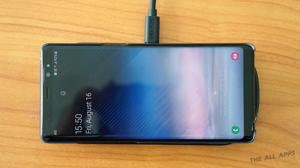CHOETECH Fast Wireless Charger Pad