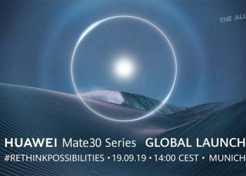 ช่องทางรับชมการถ่ายทอดสดเปิดตัว HUAWEI Mate 30 Series