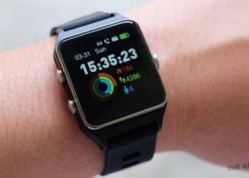 รีวิว Iwown P1C นาฬิกาเพื่อสุขภาพและออกกำลังกาย มี GPS ในตัว