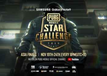 ซัมซุงชวนร่วมลุ้นเหล่าสตรีมเมอร์ไทยเป็นตัวแทนทีมเอเซีย ในการแข่งขัน PUBG Mobile Star Challenge รอบ Asia Final
