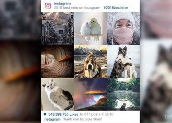 Instagram 2018 Best nine