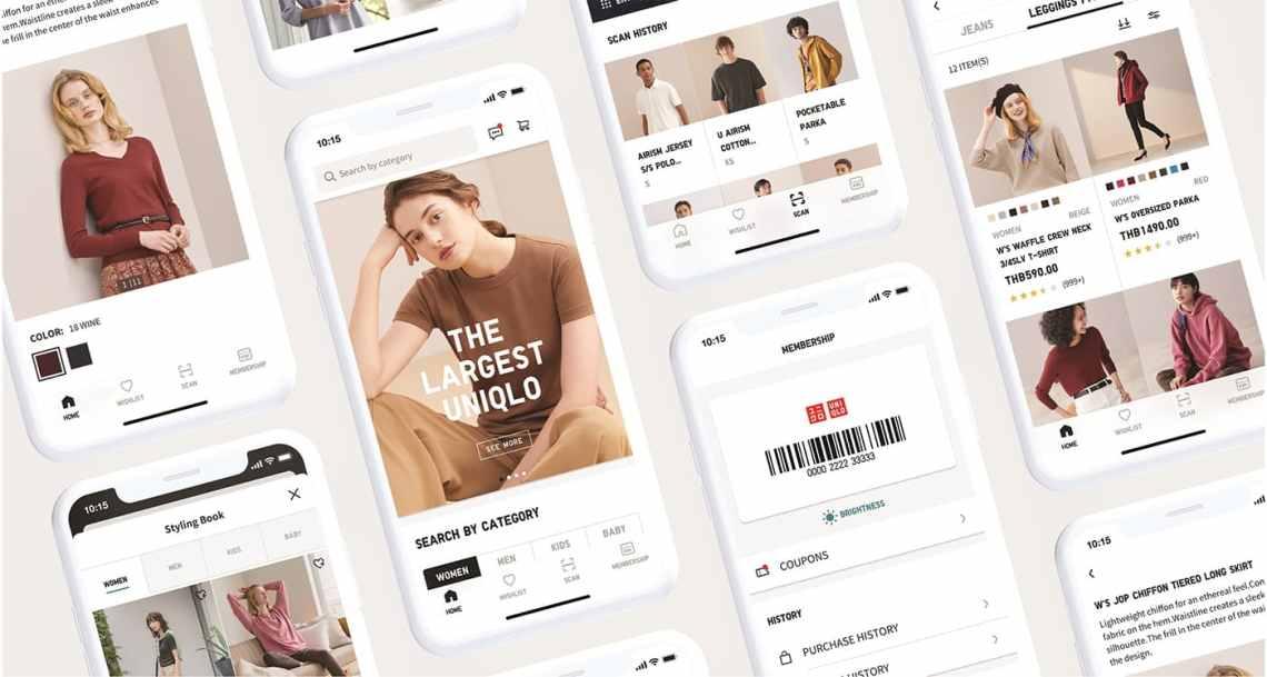 """UNIQLO APP"" แพลตฟอร์มที่เชื่อมโยงร้านออฟไลน์กับโลกออนไลน์ได้อย่างลงตัวยิ่งขึ้น"