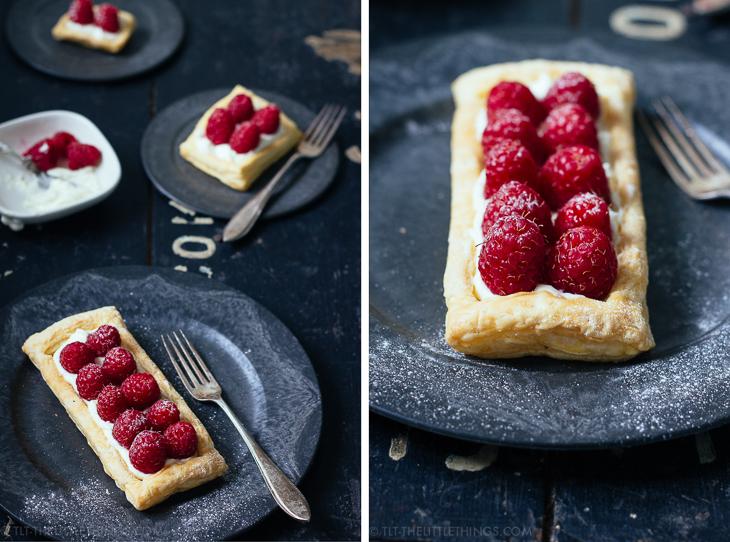 puff-pastry-raspberry-tart-bladerdeegtaart-frambozen-TLT-2