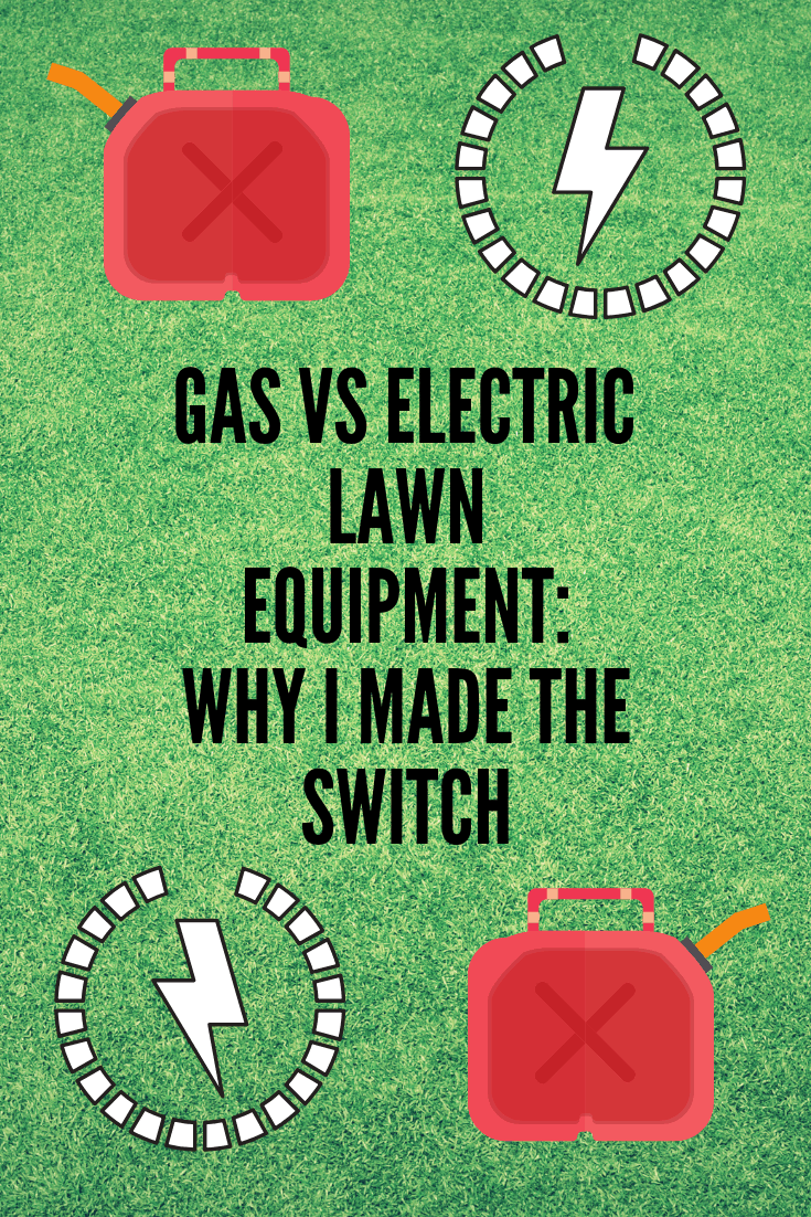 gas vs electric lawn equipment