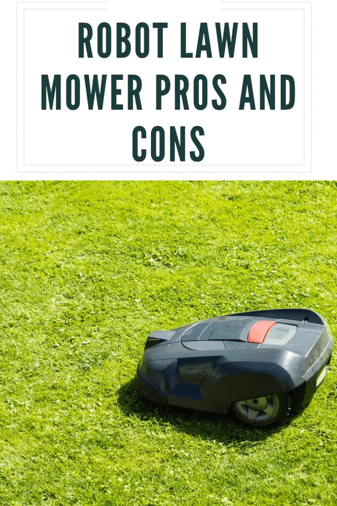 robot lawn mower pros and cons