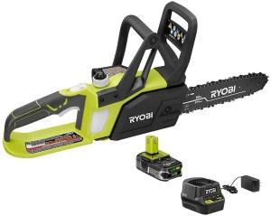 Ryobi 10in 18v cordless chainsaw