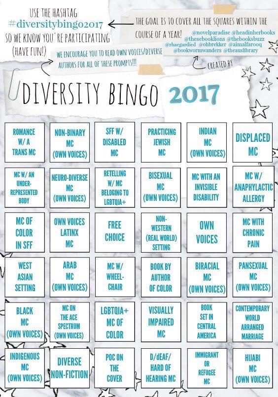 #diversitybingo2017