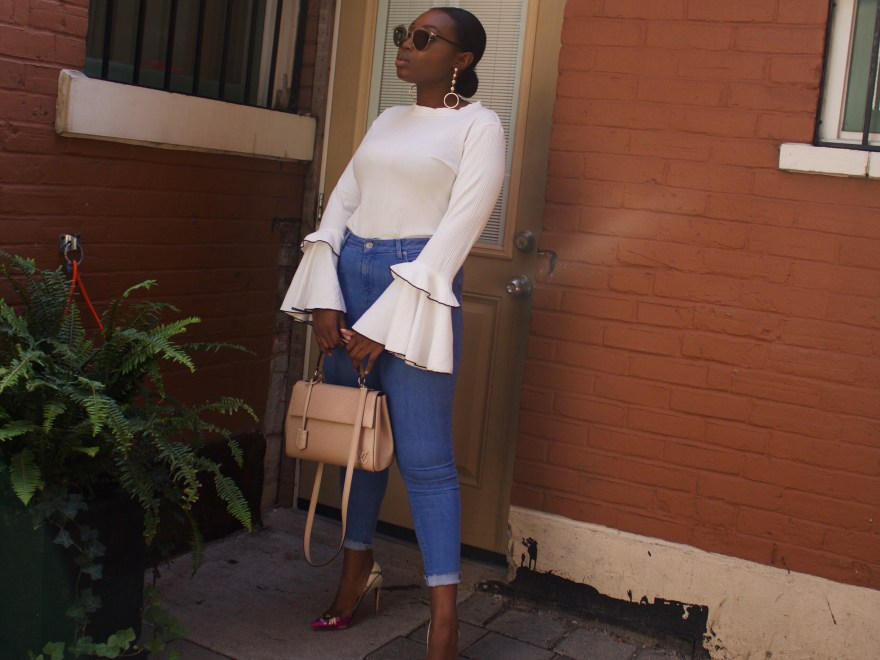Casual White Shirt and Denim | The Alma Chronicle