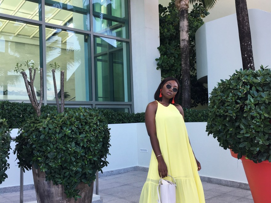 Yellow Maxi Chiffon Dress | The Alma Chroinicle