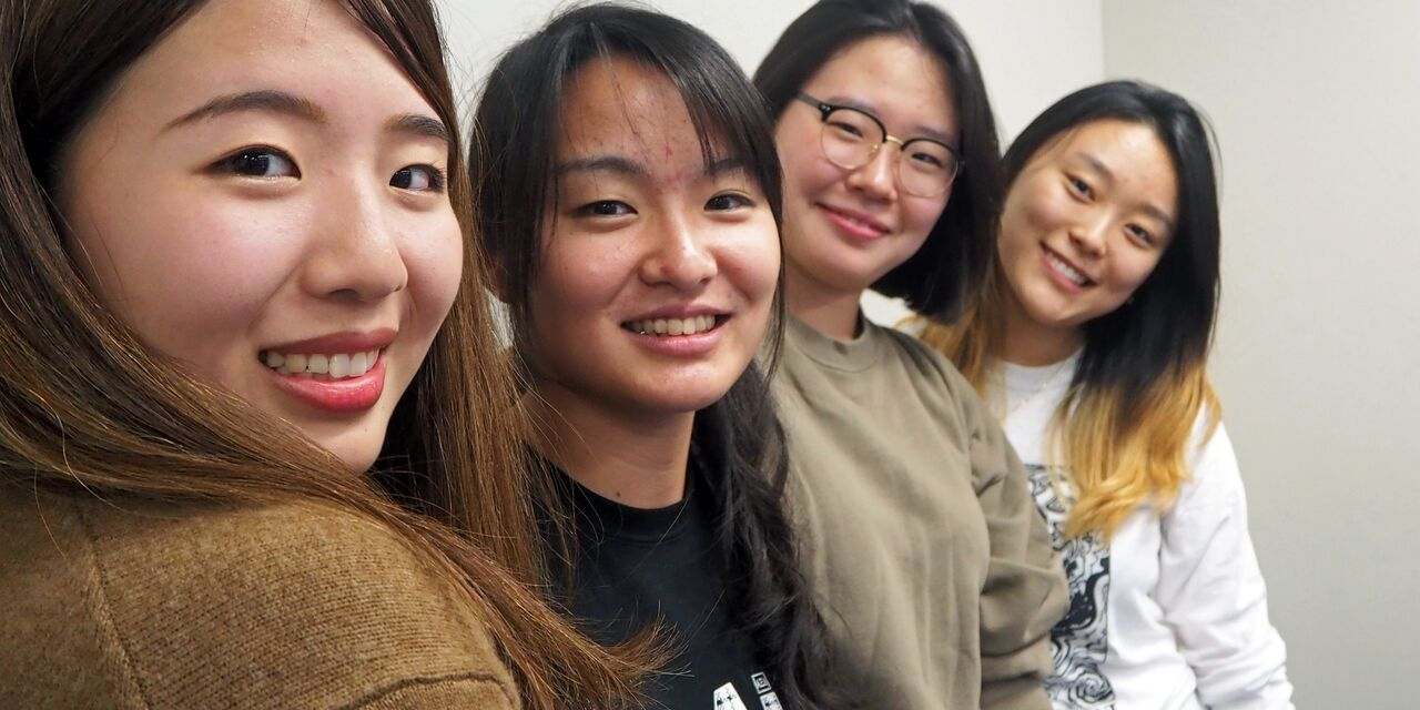 International students absorb new culture