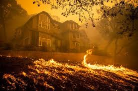 California wildfires hit home