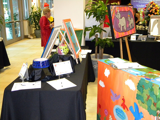 A silent auction