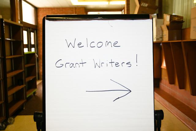 How do I write grants?
