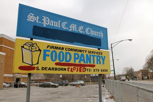 Food Pantry Sign