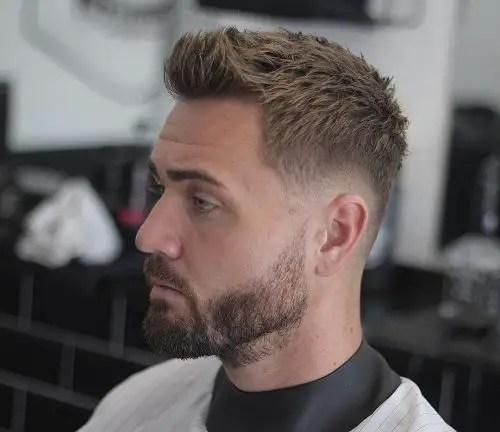 Subtle Low Drop Fade Haircut