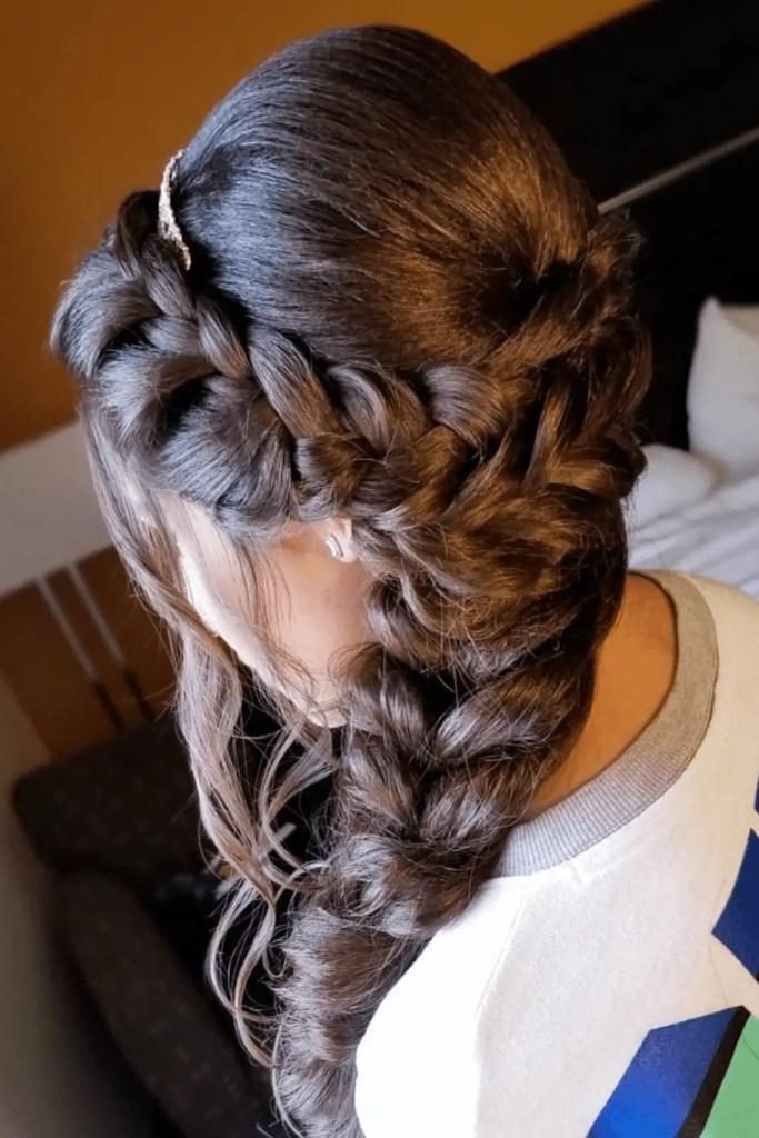 Flowing Side Braid