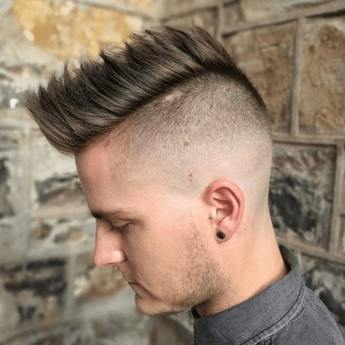 Mohawk with Side Fade