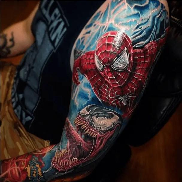 Spiderman Tattoo
