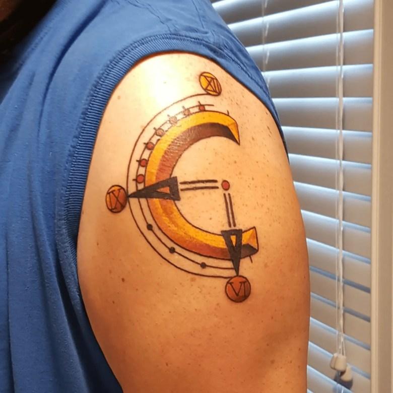 Chrono Trigger Tattoo