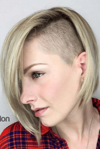 Side Shaved Hairstyle