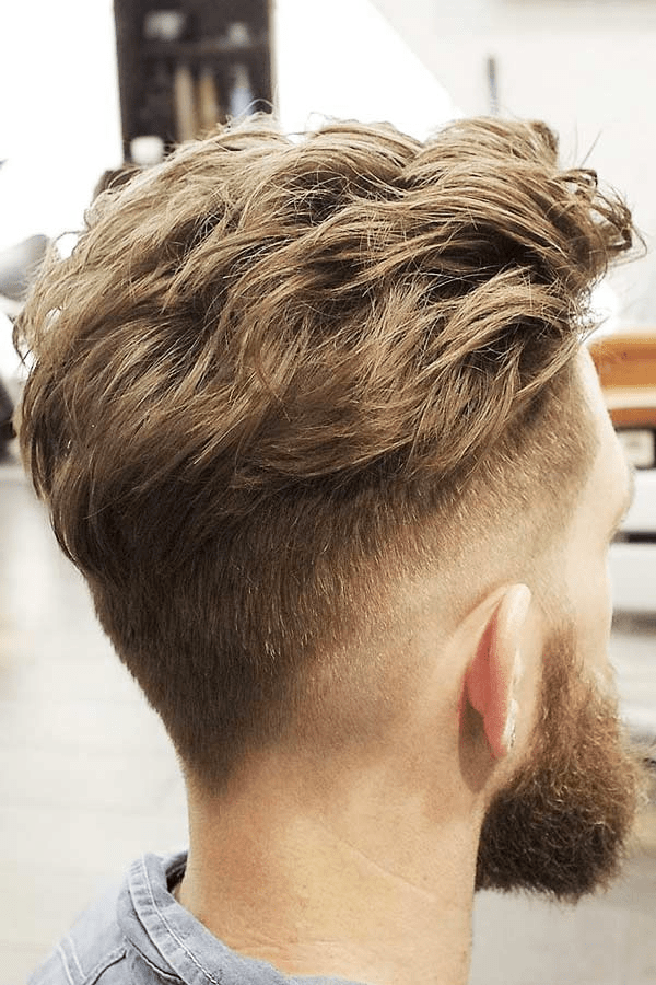 The textured top haircut