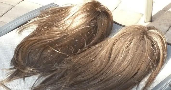Shiny wigs