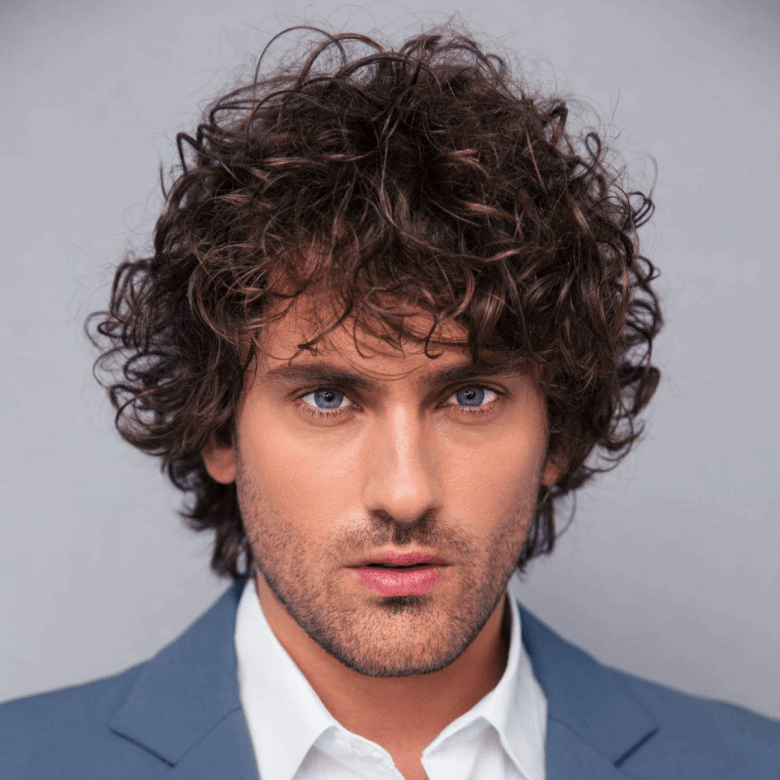 Messy Curls Hairstyle
