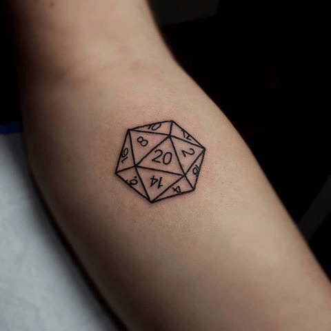 D20 Tattoo
