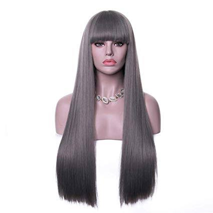 Bangs on lace front wig