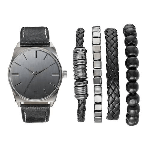 Men's Watches and Bracelet Sets